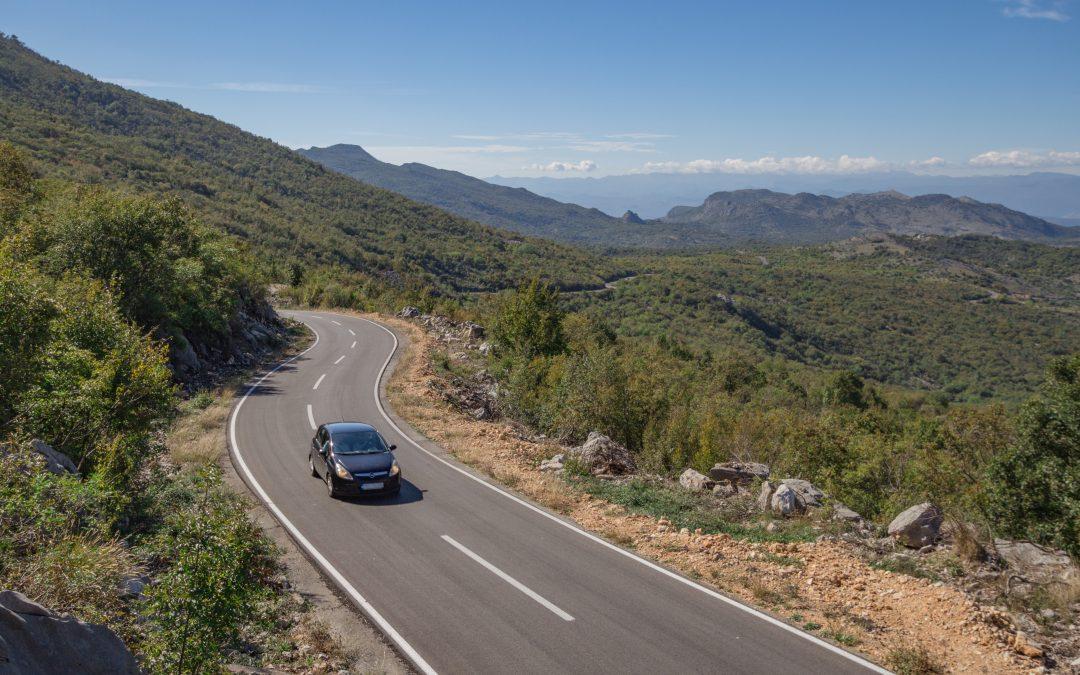 Mit dem Smartphone auf Montenegros Panoramastraßen
