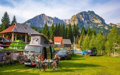 Campingurlaub mitten im Outdoorsport-Paradies:Die wohl schönsten Campingplätze in Montenegro für aktive Naturliebhaber